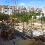 მშენებლობის პროცესი